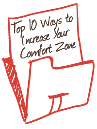 top 10 ways to increase your comfort zone