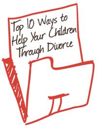 ways to help children through divorce