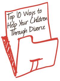 ways to help children through divorce